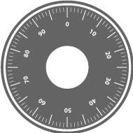 Mechanisches Zahlenkombinationsschloss