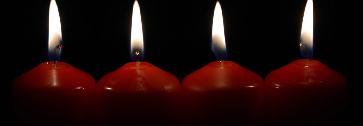 Kerzen als Brandquelle