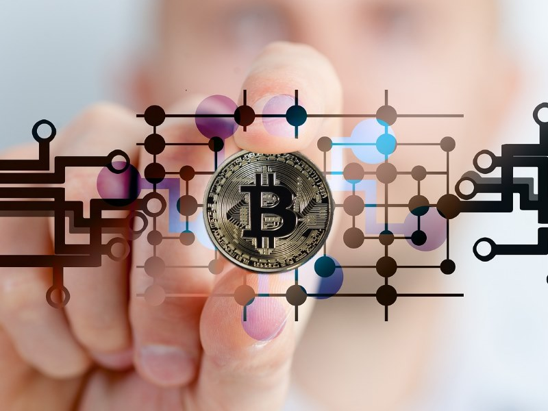 Bitcoin Cryptowährung Hand