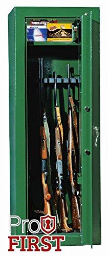 Profirst-Forest-8-Waffenschrank-Grn-mit-Elektronikschloss-0