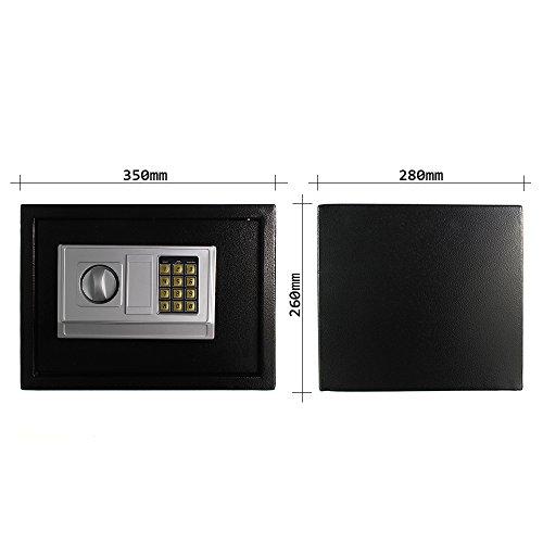 Profirst-Mbeltresor-Komet-2-Kleiner-Safe-Einbautresor-Hoteltresor-mit-Elektronikschloss-Schwarz-0-12