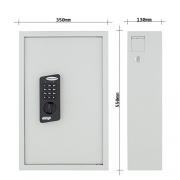 Profirst-Nestro-100-Schlsseltresor-mit-Elektronikschloss-100-Schlsselhaken-inkl-Befestigungsmaterial-mit-Schlsselanhnger-0-1