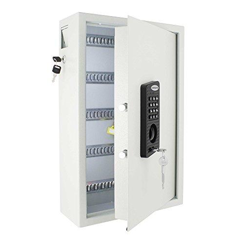 Profirst-Nestro-100-Schlsseltresor-mit-Elektronikschloss-100-Schlsselhaken-inkl-Befestigungsmaterial-mit-Schlsselanhnger-0-4