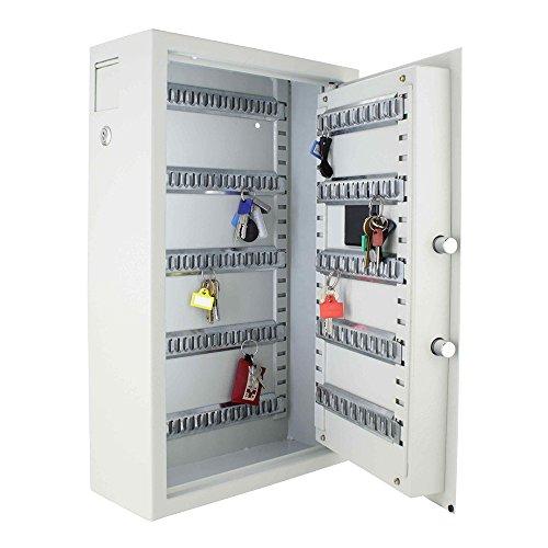 Profirst-Nestro-100-Schlsseltresor-mit-Elektronikschloss-100-Schlsselhaken-inkl-Befestigungsmaterial-mit-Schlsselanhnger-0-5