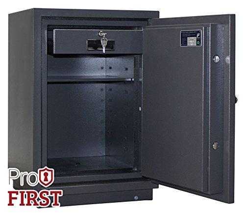 Profirst-Versal-Fire-65-Feuerschutztresor-ECB-S-FS60P-feuerfester-Dokumenschrank-Tresor-mit-Elektronikschloss-Zertifizierter-Mbeltresor-inkl-Verankerungsmaterial-0-0