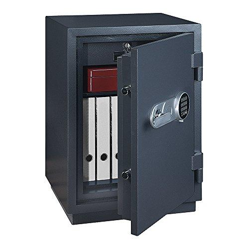 Profirst-Versal-Fire-65-Feuerschutztresor-ECB-S-FS60P-feuerfester-Dokumenschrank-Tresor-mit-Elektronikschloss-Zertifizierter-Mbeltresor-inkl-Verankerungsmaterial-0