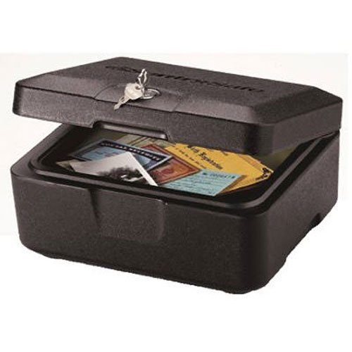 Rottner-Feuerschutzkassette-Sentry-0500–30-min-geprfter-Feuerschutz–Zylinderschloss–Sicherheitskassette–Dokumentenbox-0