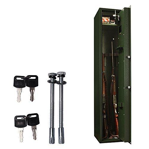 Rottner-Waffenschrank-Guntronic-5-Farbe-Grn-Waffentresor-Begrenzter-Feuerschutz-Elektronikschloss-5-Langwaffen-0-2